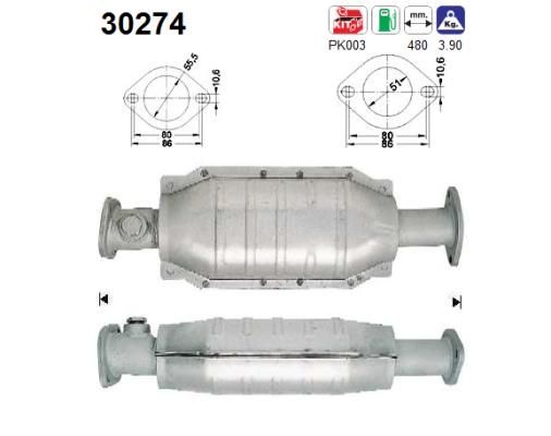 Catalyseur AS 30274