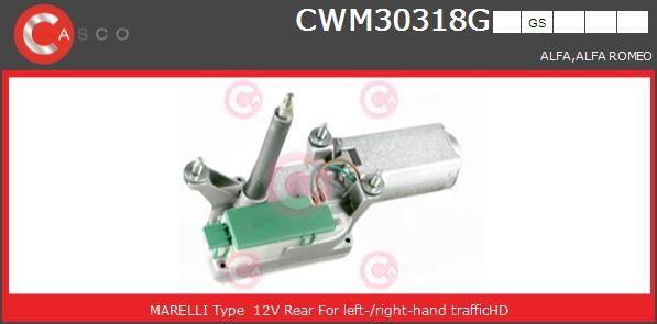 Moteur d'essuie-glace CASCO CWM30318GS