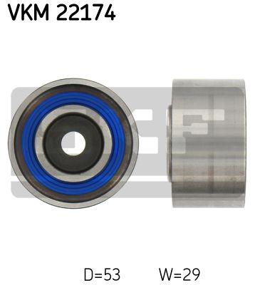 Poulie renvoi/transmission, courroie de distribution SKF VKM 22174