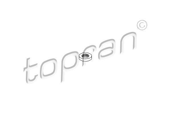 Anneau de support, coupelle de suspension TOPRAN 107 362