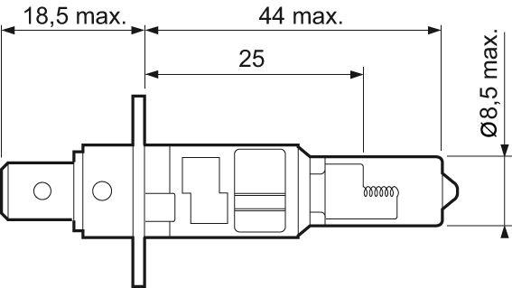 Ampoule, projecteur antibrouillard VALEO 032003