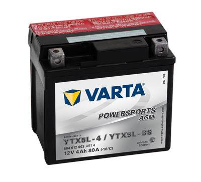 Batterie VARTA 504012003A514